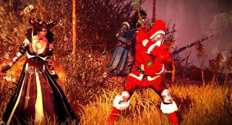 Ведьмак 2 — безумный ведьмак Санта