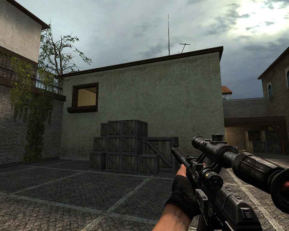 Counter Strike:Source — VSS Vintorez (g3sg1)