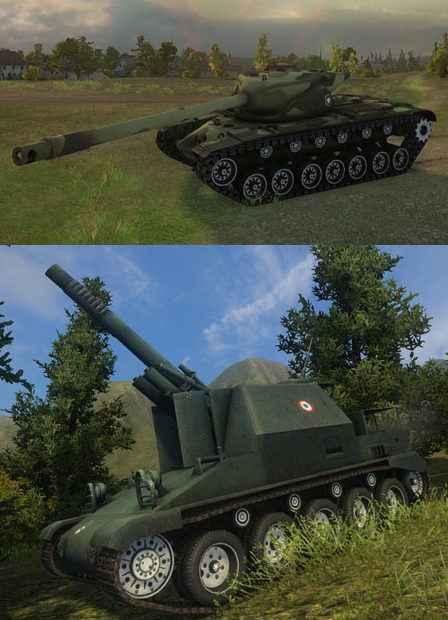 Модификация World Of Tanks 0.8.6 — Раскрашенные шкурки гусениц (катки) для танков