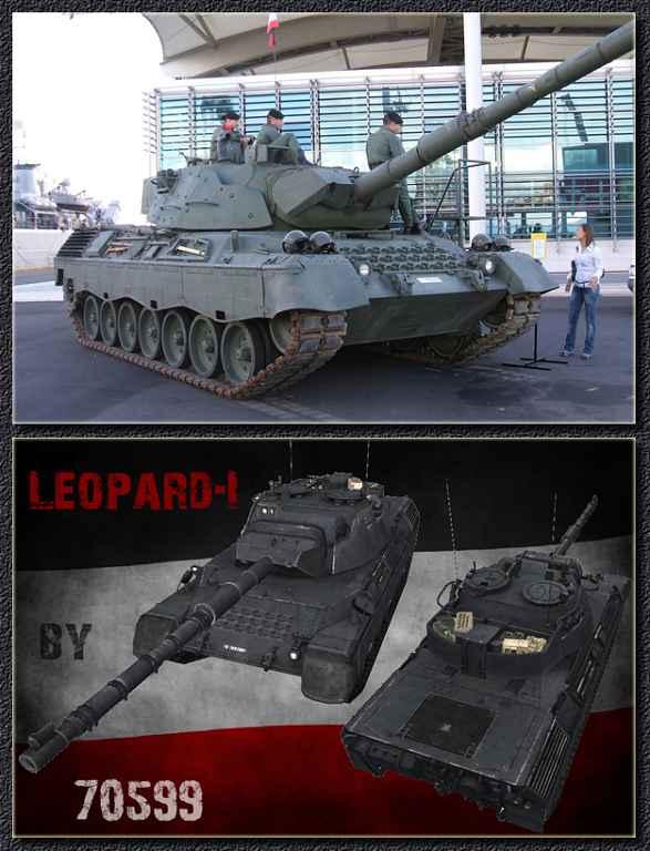 Модификация World Of Tanks 0.8.6 — Ремоделлинг Leopard1 (Leopar-1А5 1987 г.в.)