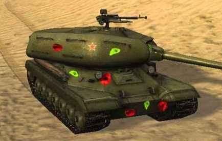 Мод World Of Tanks 0.8.6 — Цветные попадания «Paintball»