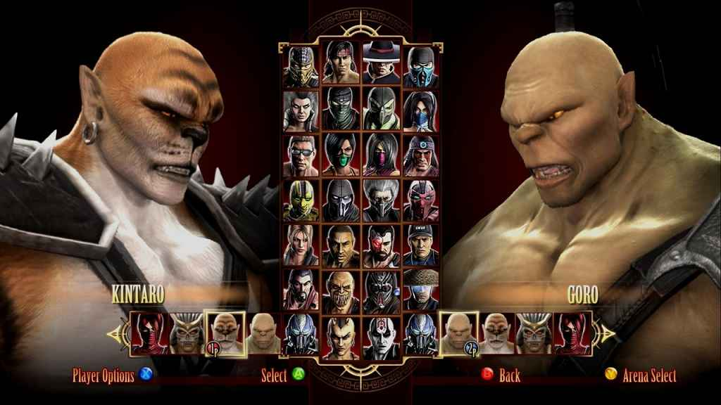 Mortal Kombat Komplete Edition — All Bosses