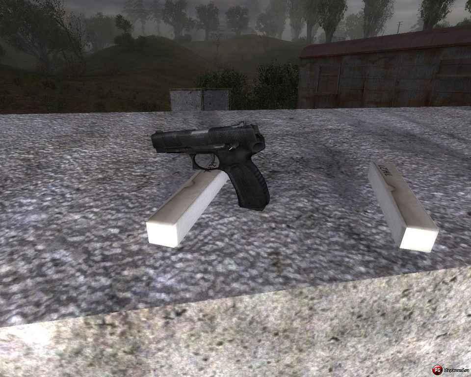 STALKER — Пистолет Ярыгина МР-443