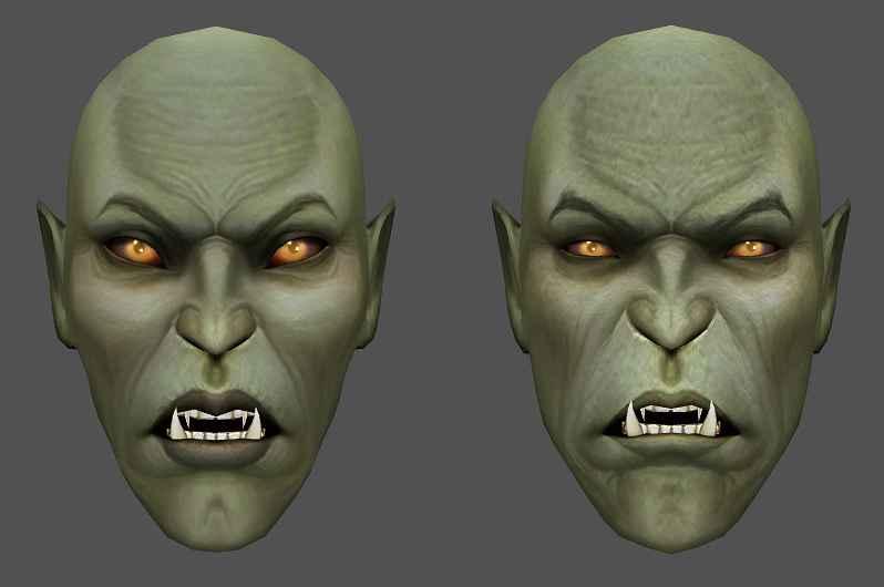 Morrowind — Ретекстур Орков