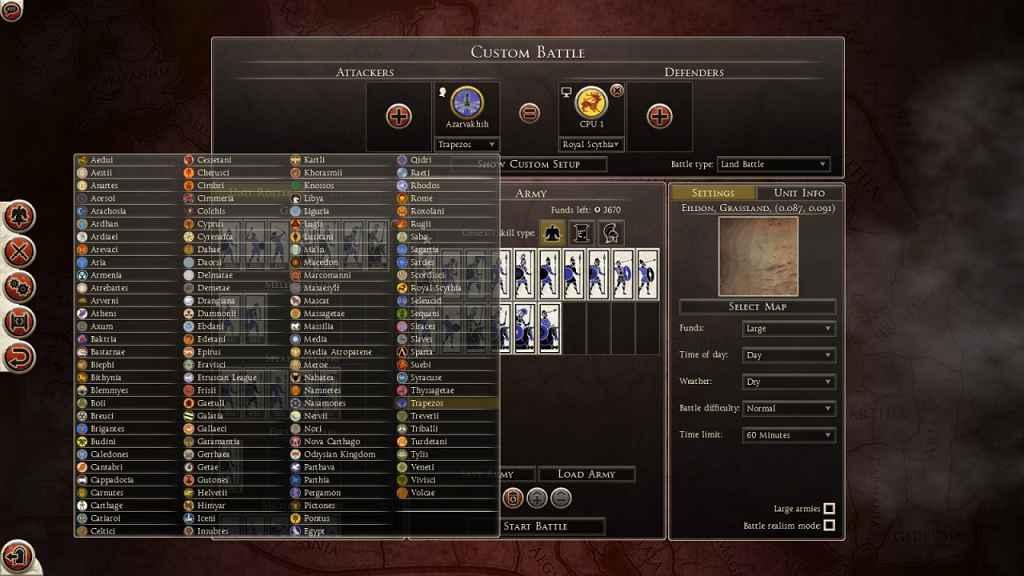 Total War: Rome 2 — Игра за любую фракцию
