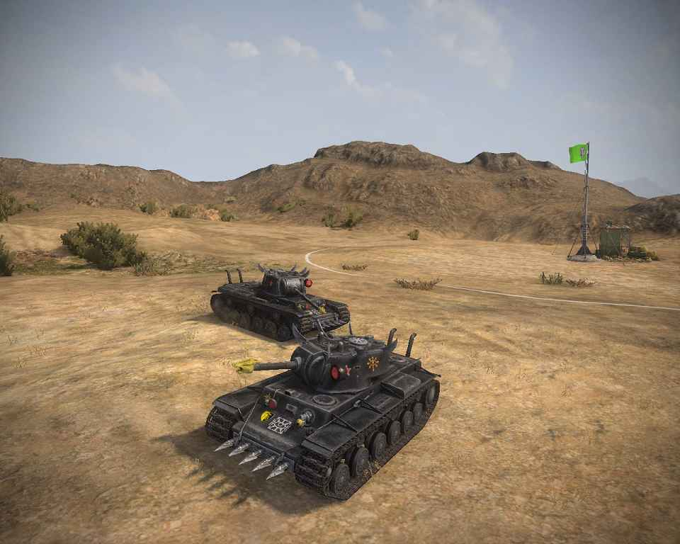 Мод World Of Tanks — Warhammer 40K