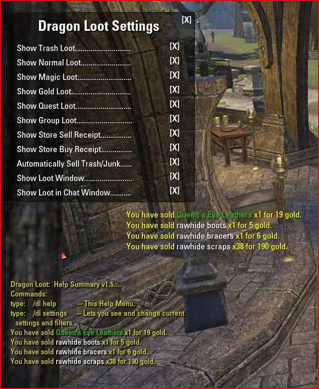 Мод TES Online — Dragon Loot