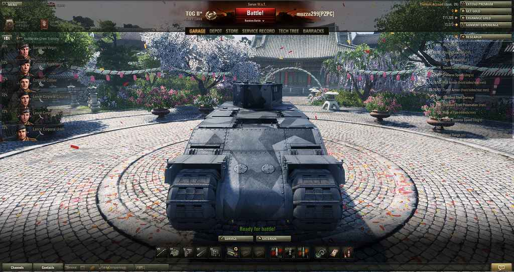Мод World of Tanks — Urban TOG II