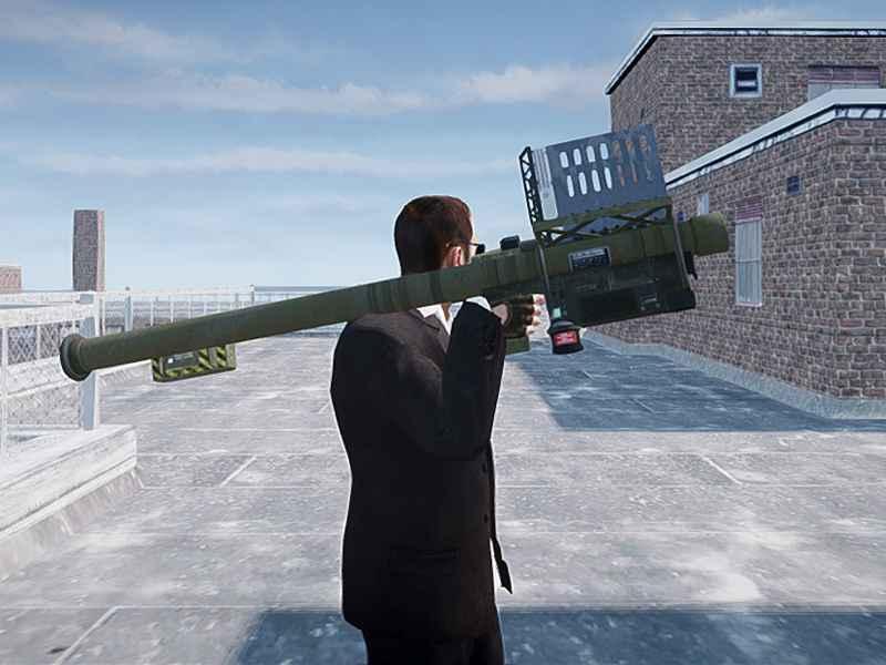 GTA 4 —  Огромная пушка FIM-92 Stinger