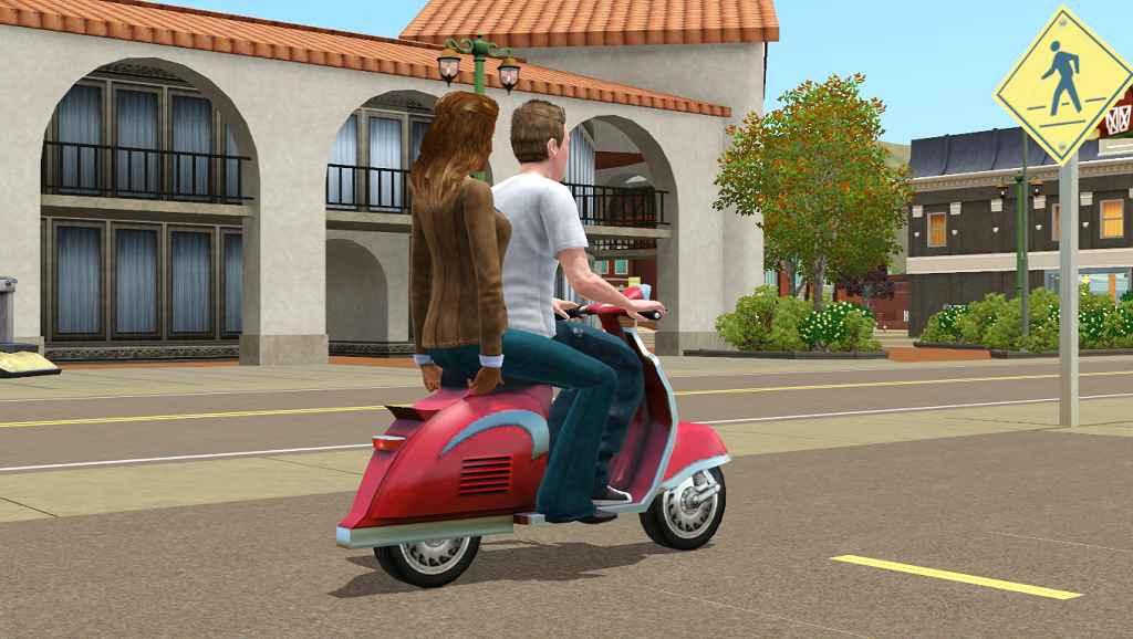Мод Sims 3 — Совместная поездка