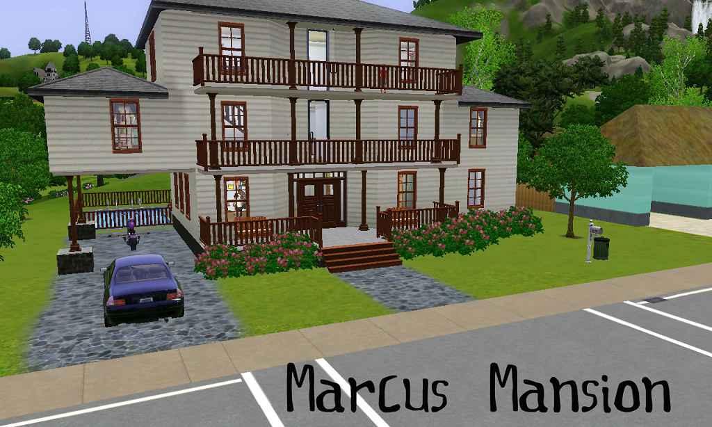 Мод The Sims 3 — Большой особняк