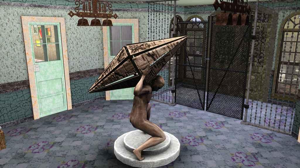 Мод The Sims — Госпиталь для душевнобольных