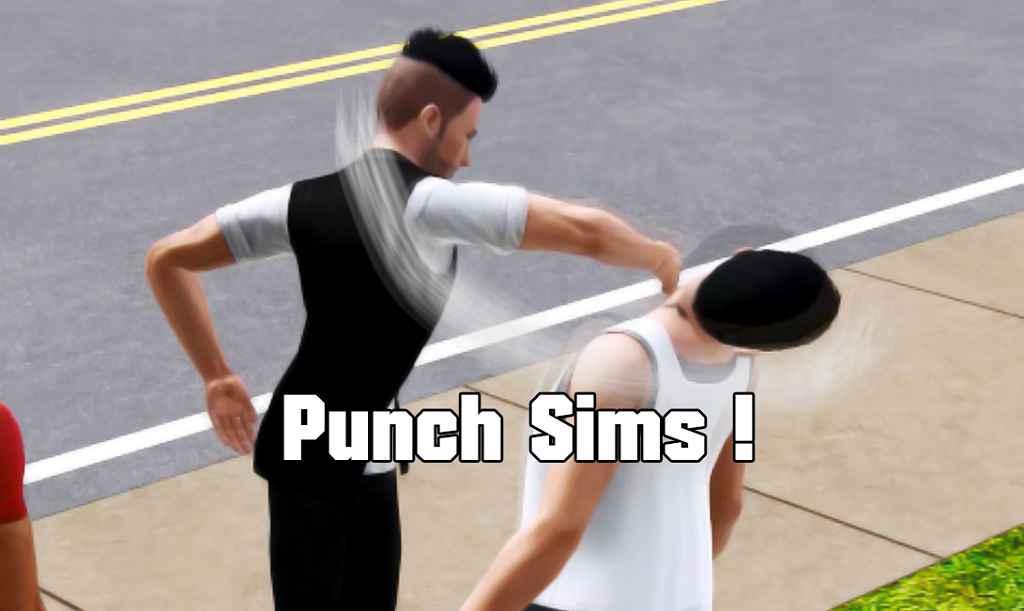 The Sims 3- Насилие и Агрессия