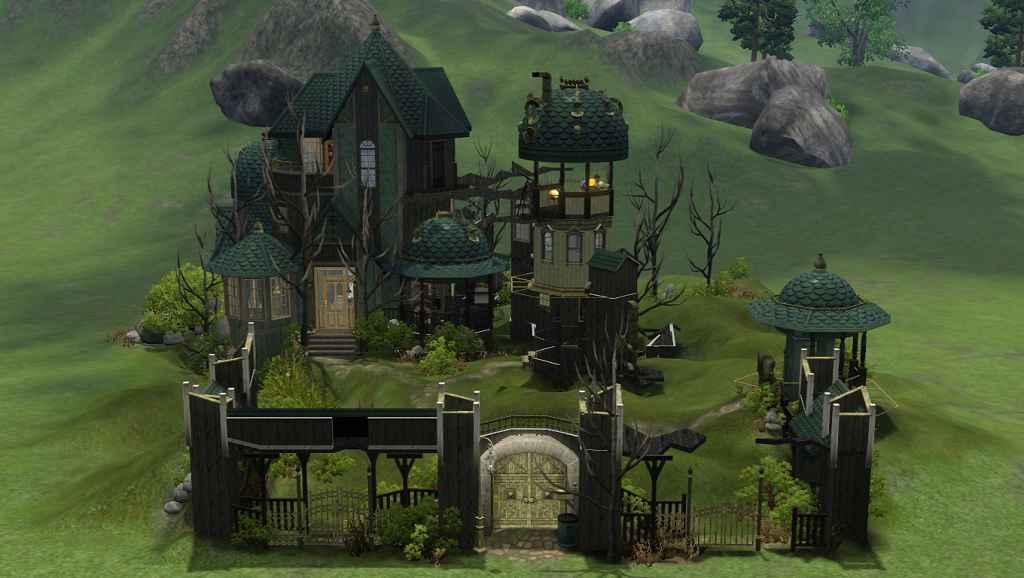Мод The Sims 3 — Дом Альберта Симсштейна