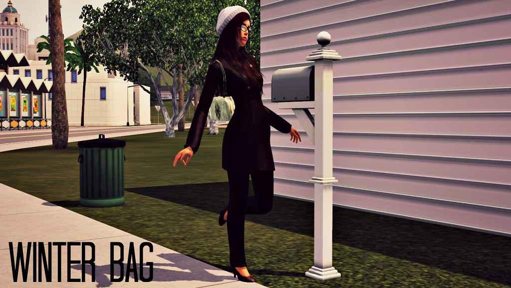 Мод The Sims 3 — Зимняя сумка