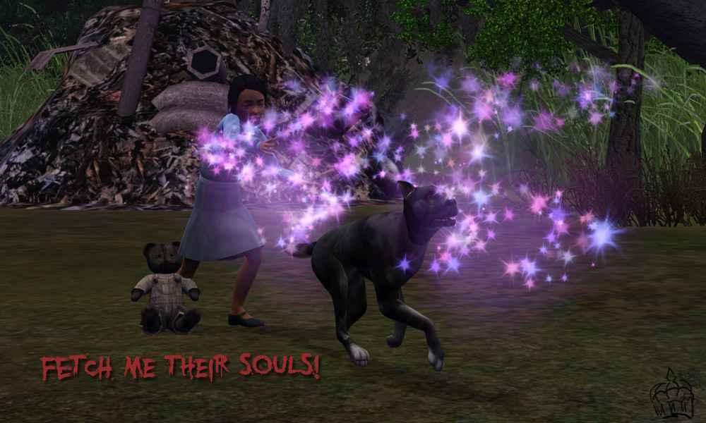 Мод Sims 3 — Пушистик