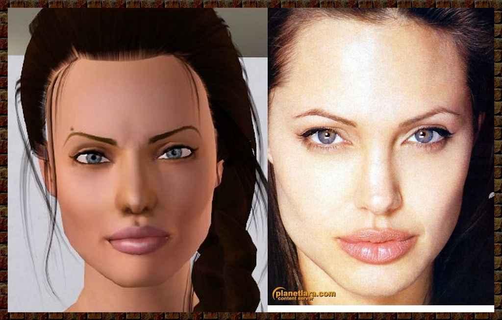 Мод Sims 3 — Лара Крофт
