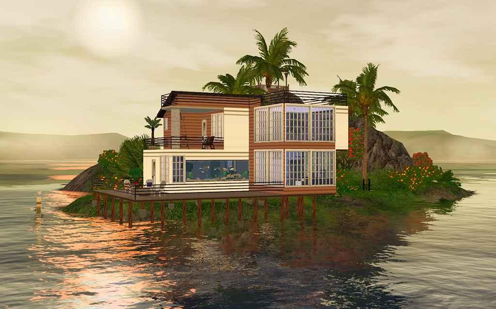 Sims 3 — Дом в Разбойничьей Бухте