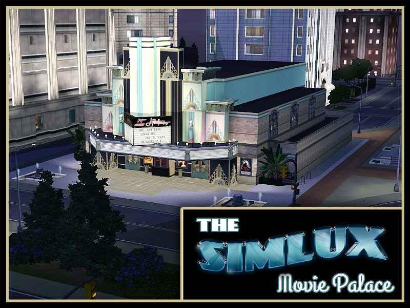 Sims 3 — Кинотеатр