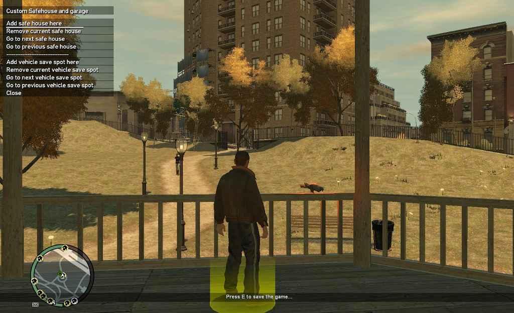 GTA 4 — Сохранения в любом месте