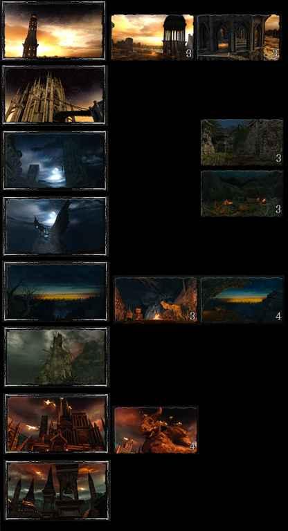 Dark Souls 2 — Skybox Remix Bonfire