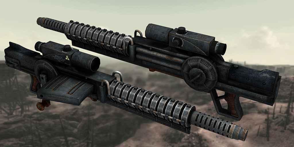 Мод Fallout 3 — Gauss Rifle Hi-Res Retexture