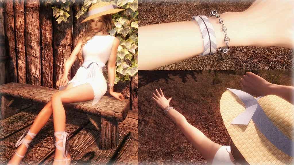 Мод Skyrim — Сет летней одежды