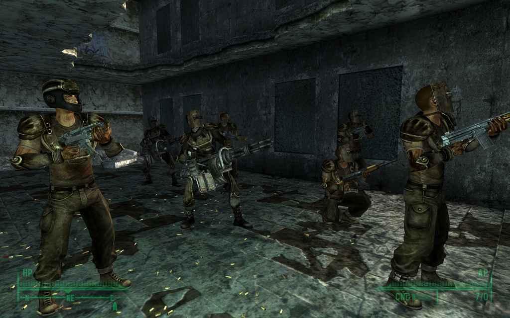 Модификация Fallout 3 — Gangs Of The Wasteland