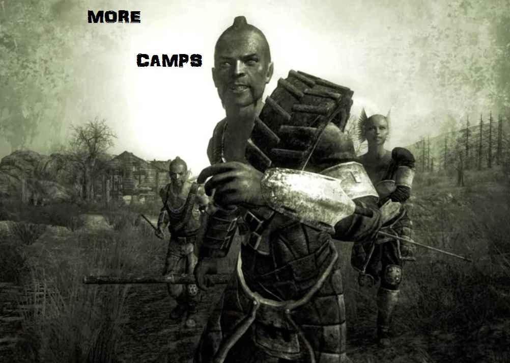 Модификация Fallout 3 — Больше лагерей рейдеров