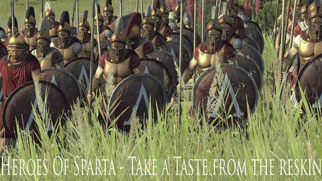 Total War: Rome 2 — Новая Спарта / Sparta Remake