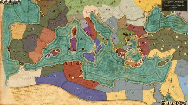 Total War : Rome 2 — Римские дома (кампания с новыми играбельными фракциями)