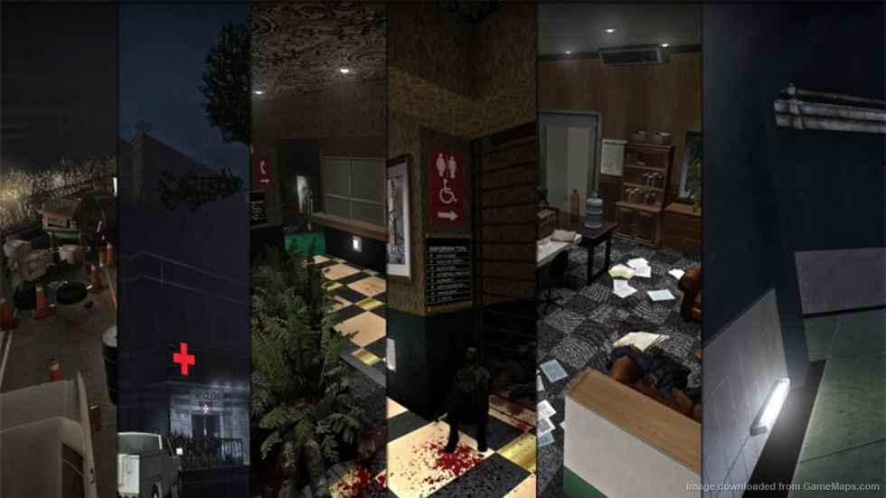 Left 4 Dead 2- Кампания «The Hive»  Resident Evil