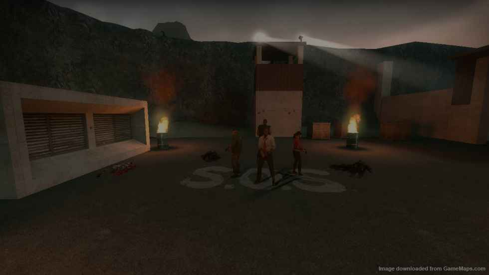 Мод Left 4 Dead 2 — Кампания Pitch Dark Mesa