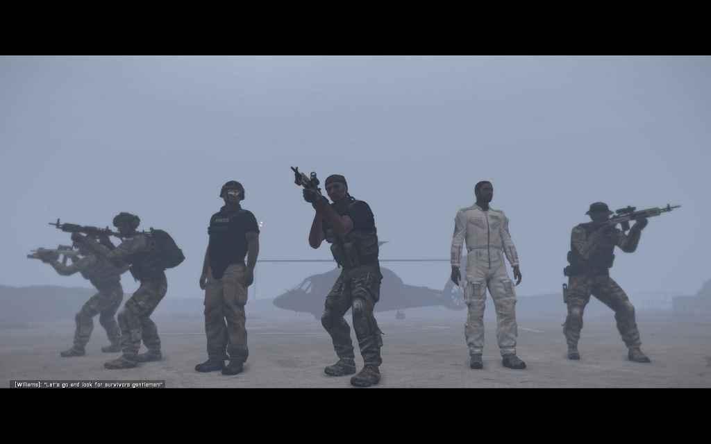 Модификация Arma 3 — The White Silk of Thanatos (Кампания)