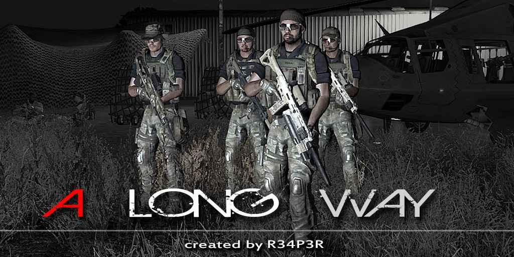 Arma 3 — A long way (Ко-оп кампания)