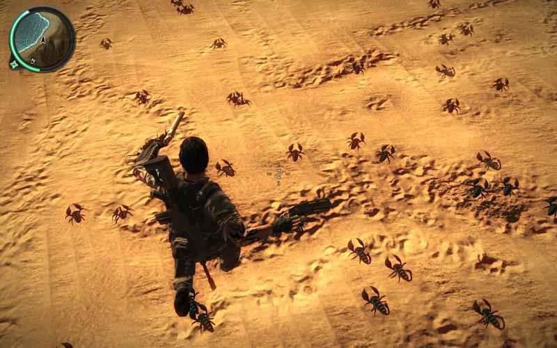 Just Cause 2 — Скорпионы
