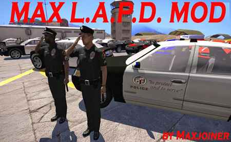 Arma 3 — Max L.A.P.D. Mod