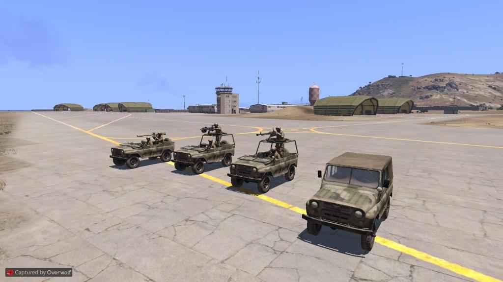 Arma 3 — Модели «УАЗиков» (HAFM UAZ Cars)