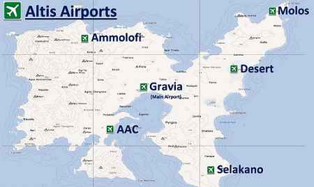 Модификация Arma 3 — Динамичные аэропорты (Dynamic Altis Airports)