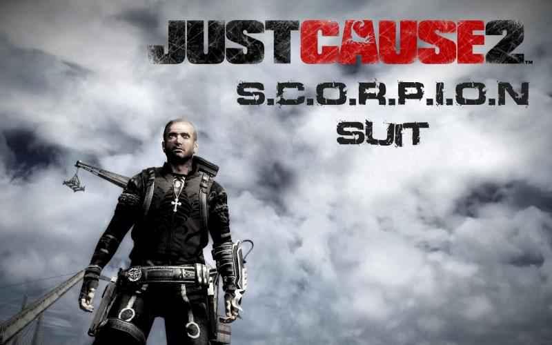 Just Cause 2 — Костюм Скорпиона