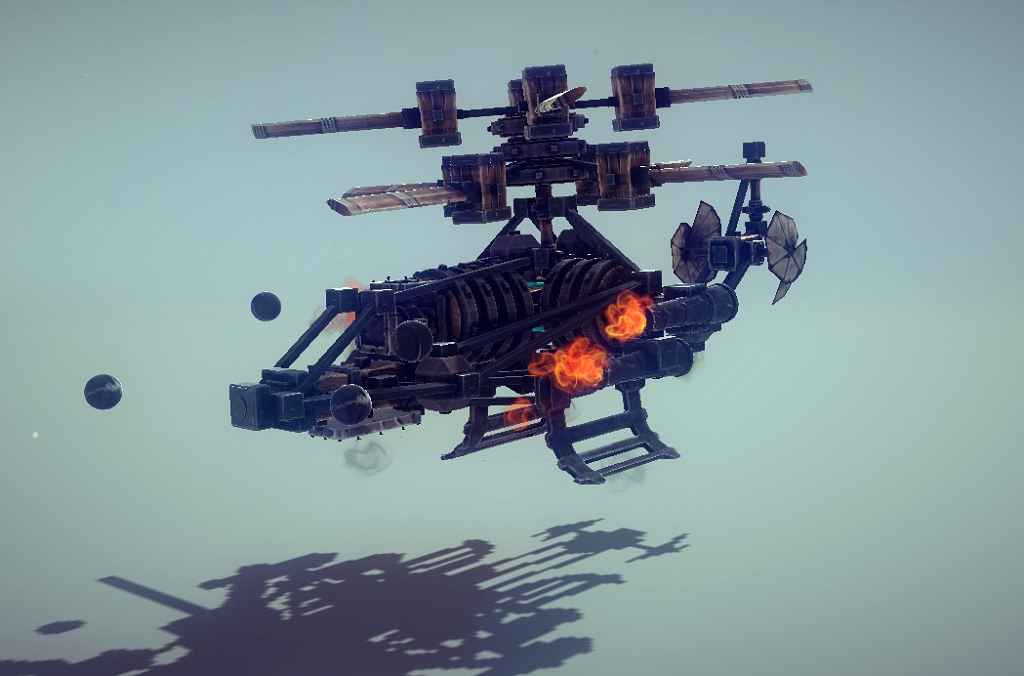 Besiege — Вертолет «Phantom»