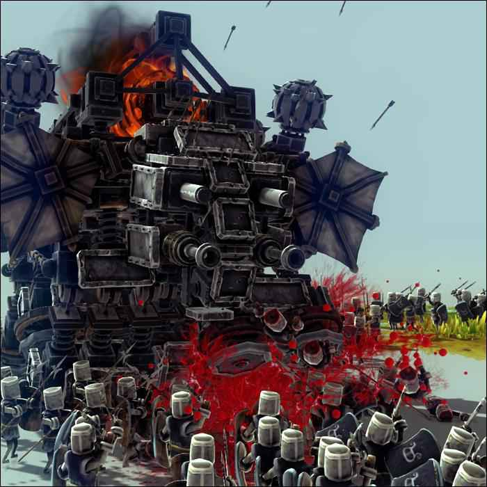 Мод Besiege — Танк «Мамонт»