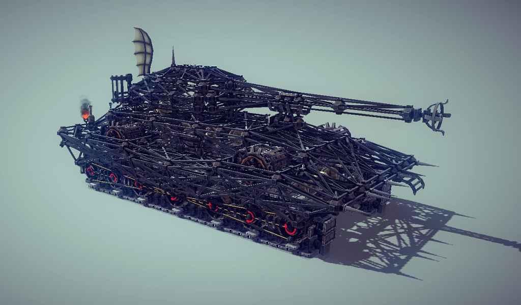 Besiege — Тяжелый танк