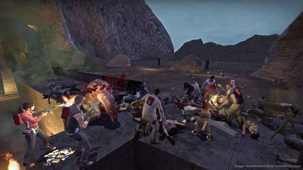 Мод Left 4 Dead 2 — Карта на Выживание «Helm's Deep Reborn»