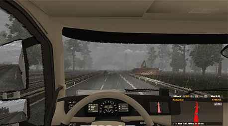 Мод ETS 2 — Реалистичные звуки погоды (Realistic weather sounds)