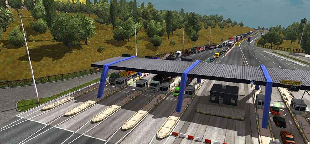 Мод ETS 2 — Увеличение траффика (Multiple AI Traffic)