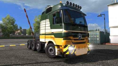 ETS 2 — Mercedes Actros 4160 SLT 8?4 Titan