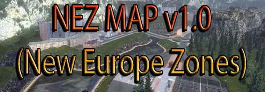 Мод ETS 2 — 4 новые страны (NEZ Map: Spain, France Andorra and Ukranie)