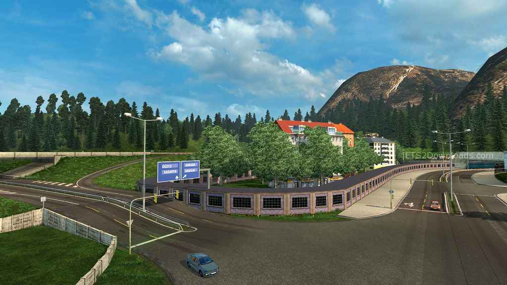 Мод ETS 2 — Карта Турции (Europe – Turkey Map)