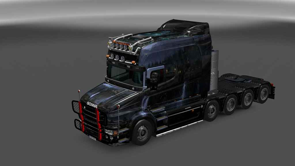 Мод ETS 2 — Скин для Scania T (DORF SKIN)